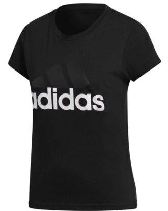 Adidas T-shirt Ess LI SLI Tee Sort Dame