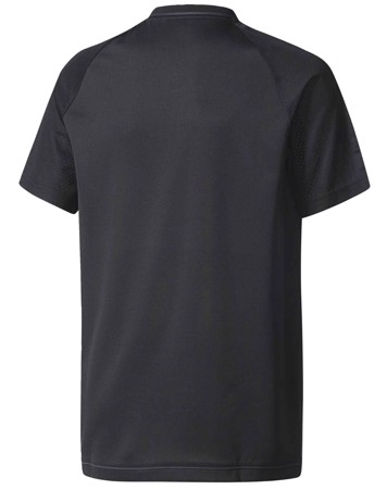 Adidas t-shirt Real TRG JSY Y Sort-Mint Børn 2