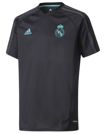 Adidas t-shirt Real TRG JSY Y Sort-Mint Børn 1