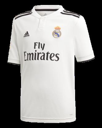 Adidas Spillertrøje Real H JSYY LFP Hvid-Sort Unisex