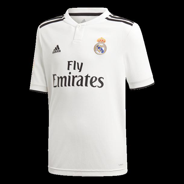Adidas Spillertrøje Real H JSYY LFP Hvid-Sort Unisex 1