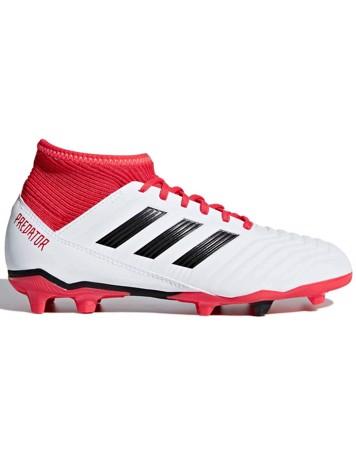 Adidas Fodboldstøvler Predator 18,3 FG JR. Hvid-Rød Børn 1