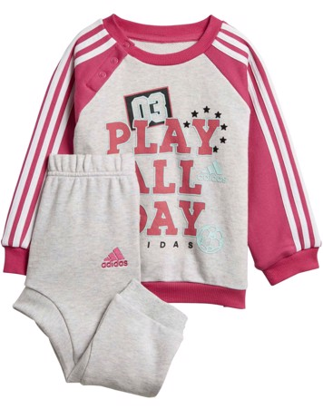 Adidas Babyjogger I Graph Jogg FT Pink-Grå Pige 1