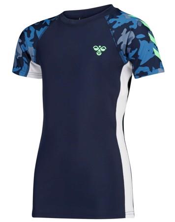 Hummel Zap svømme t-shirt sunprotect +50 dreng 1
