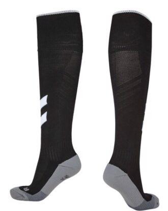 Hummel Fundamental Fodboldstrømper Sort/hvid
