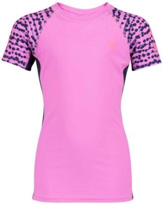 Hummel bade t-shirt Zap pink sunprotect +50 pige