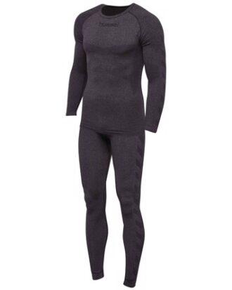 Hummel Baselayer ski - og sportsundertøj grå herre