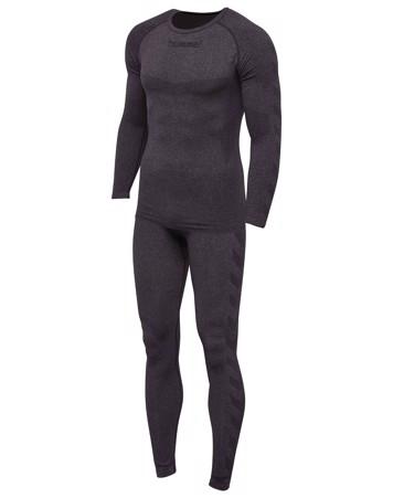 Hummel Baselayer ski - og sportsundertøj grå herre 1