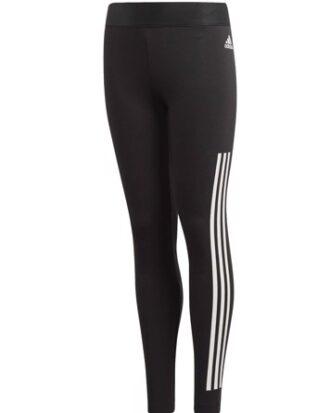 Adidas Tight YG MH 3S Tight Sort-Hvid Pige