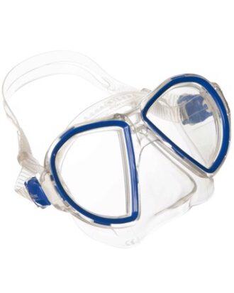 Aqua Lung Dykkermaske Duetto LX Klar-blå Unisex