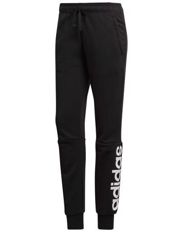 Adidas Sweatpants Ess Lin Pant Sort-Hvid Dame 1