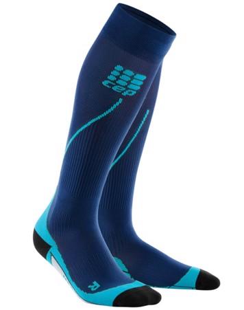 Cep Compressions strømper Run socks 2 - blå Sort Herre 1