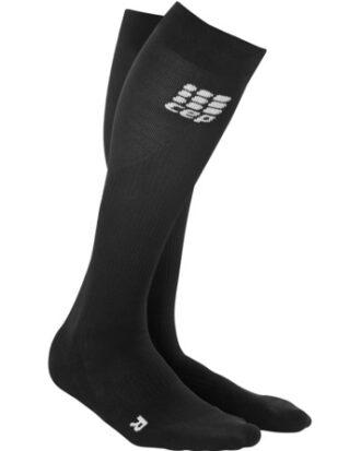 Cep Compressions strømper Run socks 2 sort Sort Herre