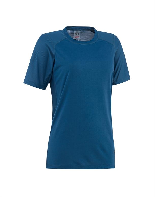 Kari Traa Caroline T-shirt Blå Dame 1