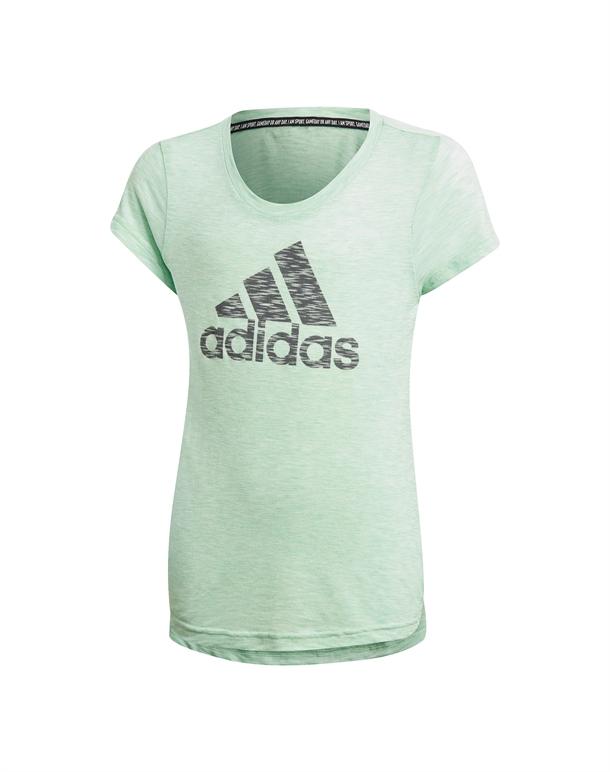 Adidas JG A MHE T-shirts Grøn Pige 1