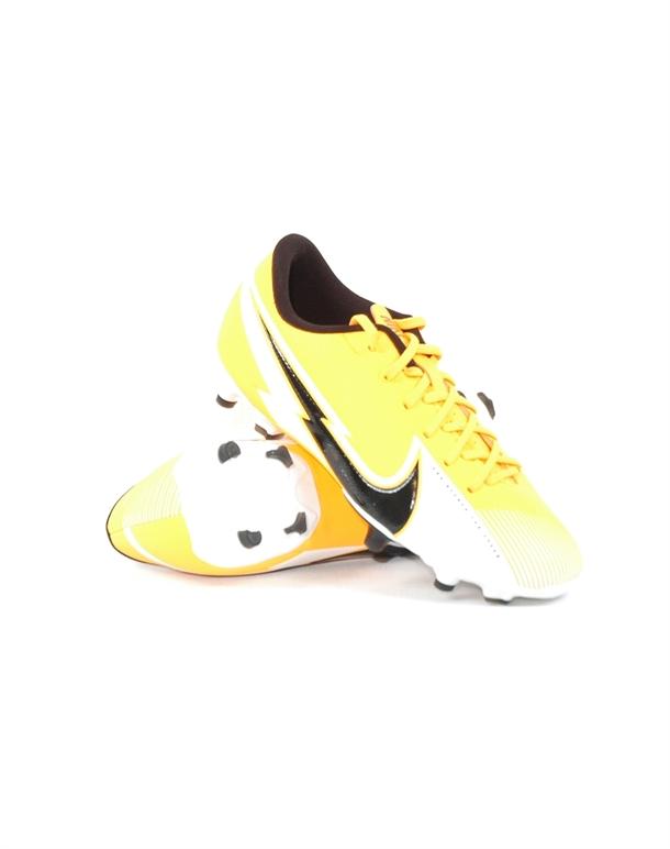 Nike Vapor 13 Academy FG-MG Fodboldstøvler Orange-Sort Børn 1