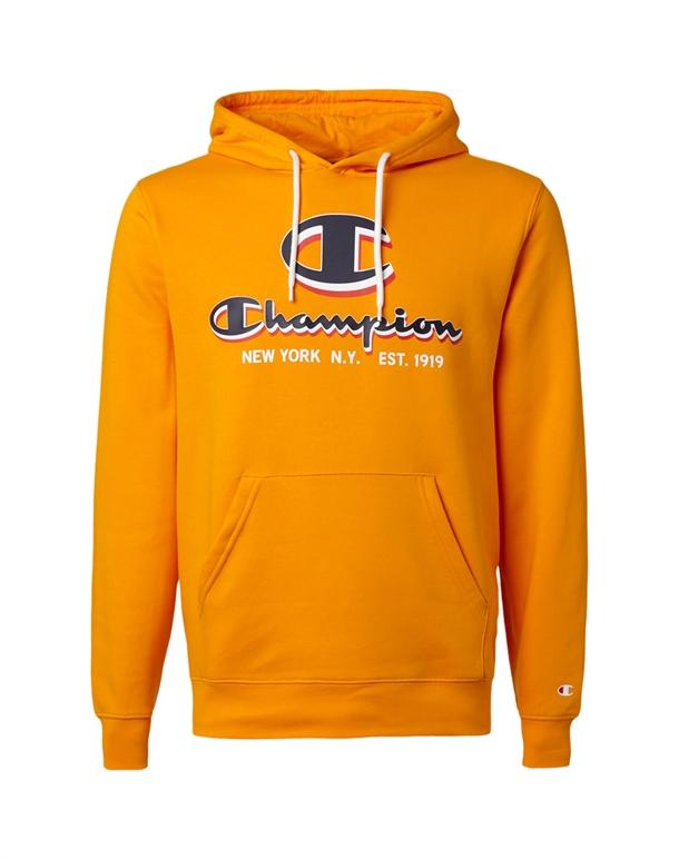 Champion Hooded Trøje Gul Herre 1