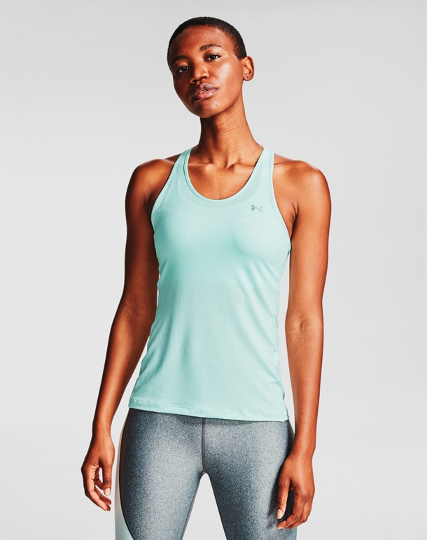 Under Armour HG Armour Racer Tank Top Mint Dame 1