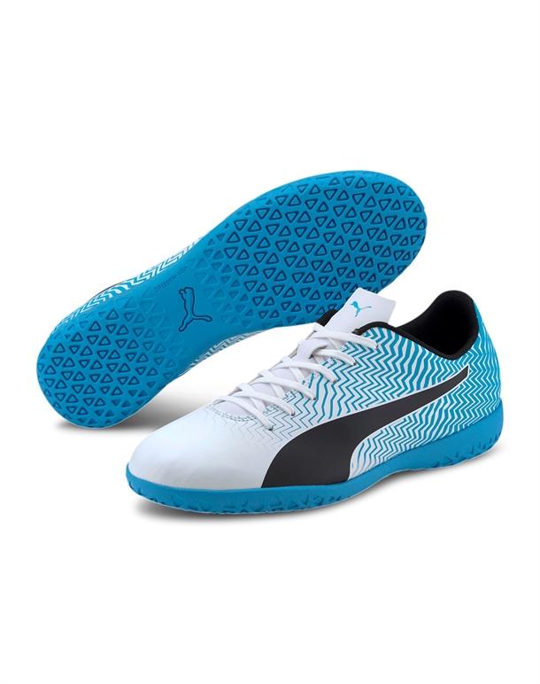 Puma Rapido II IT Indendørs fodboldsko Blå-Hvid Unisex 1