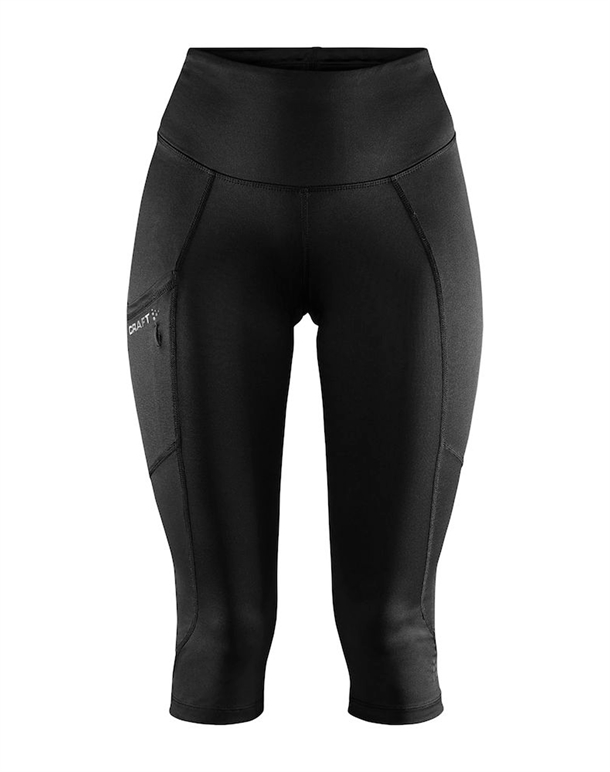 Craft ADV Essence Capri Tight Sort Dame 1