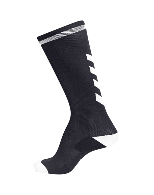 Hummel Elite Indoor High Strømper Sort-Hvid Unisex 1