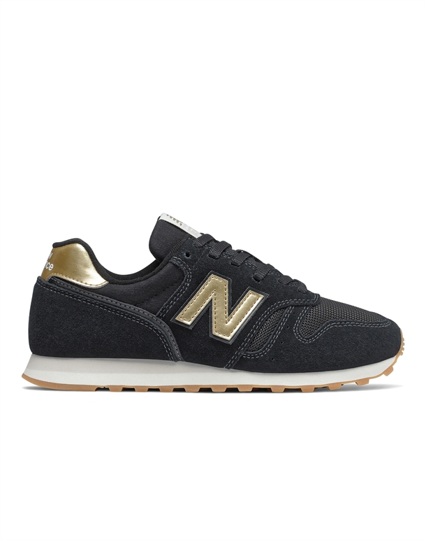 New Balance 373 Sneakers Sort-Guld Dame 1
