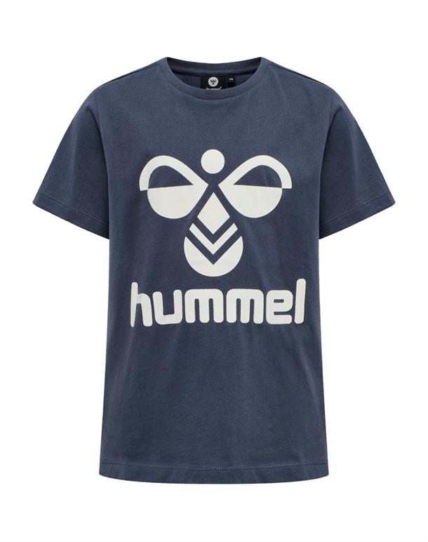 Hummel Tres T-shirt Grå Børn 1