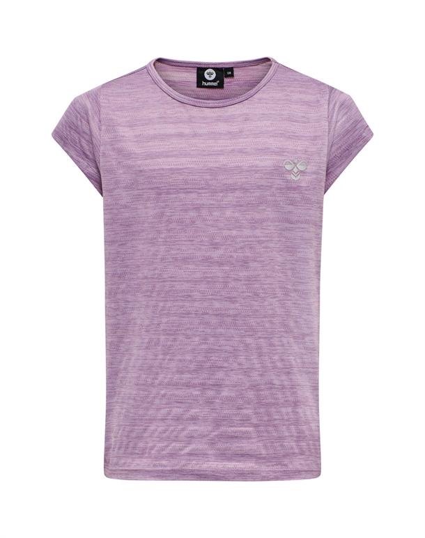 Hummel Sutkin T-shirt Lilla Pige 1