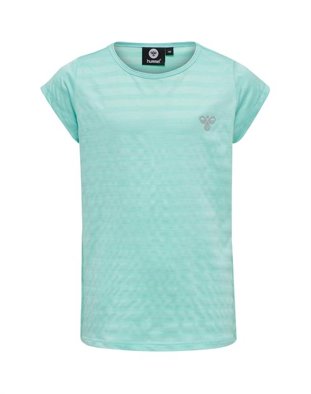 Hummel Sutkin T-shirt Turkis Pige 1