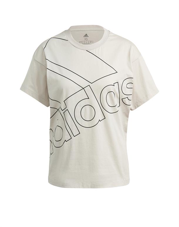 Adidas FAV Q1 T-shirt Beige Dame 1