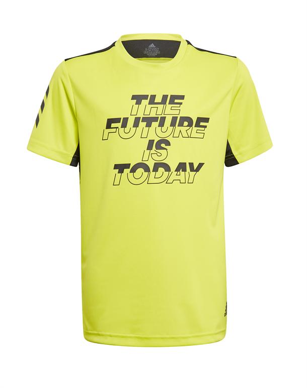 Adidas A.R. XFG T-shirts Gul Børn 1