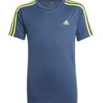 Adidas 3S T-shirt Blå-Gul Børn