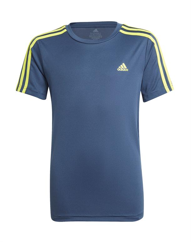 Adidas 3S T-shirt Blå-Gul Børn 1