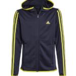 Adidas 3S FZ Trøje Blå/Gul Børn