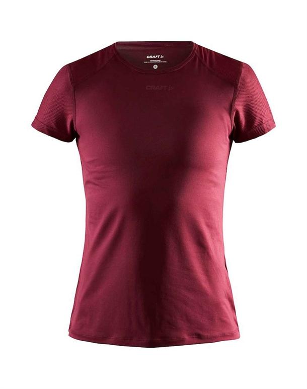 Craft ADV Essence Slim T-shirt Rød Dame 1