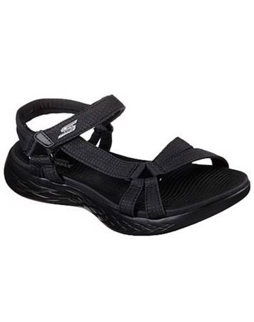 Skechers Sandaler Brilliancy Sort Dame 1