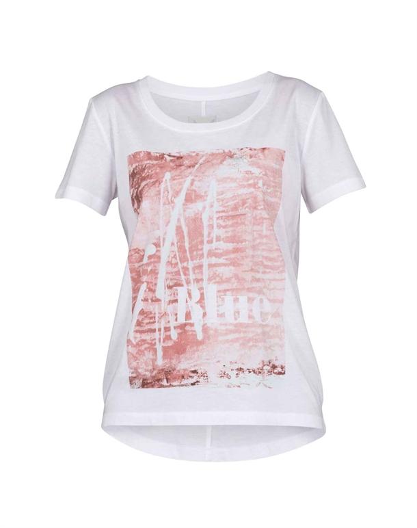 Blue Sportswear San Marta T-shirts Hvid Dame 1