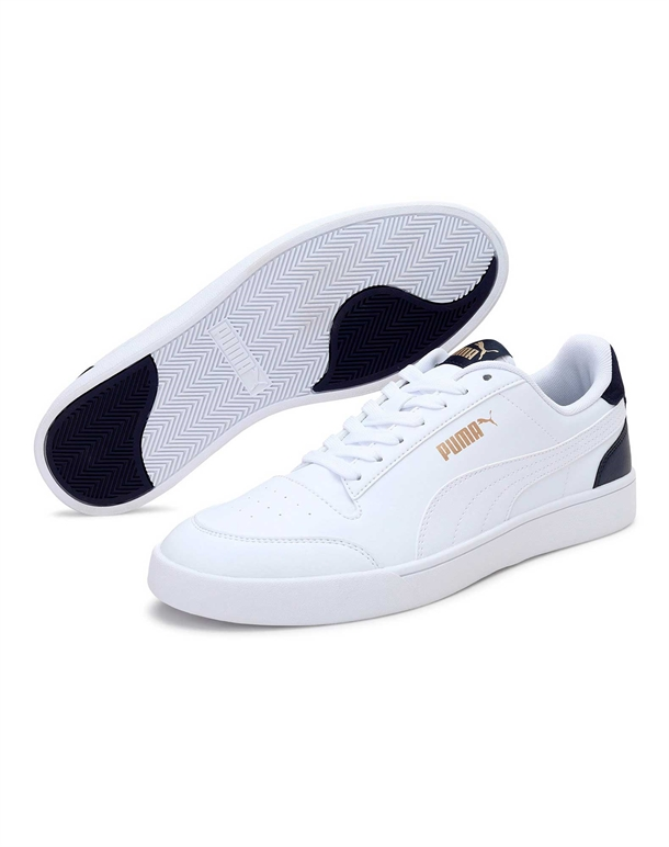 Puma Shuffle Sneakers Hvid-Blå Unisex 1