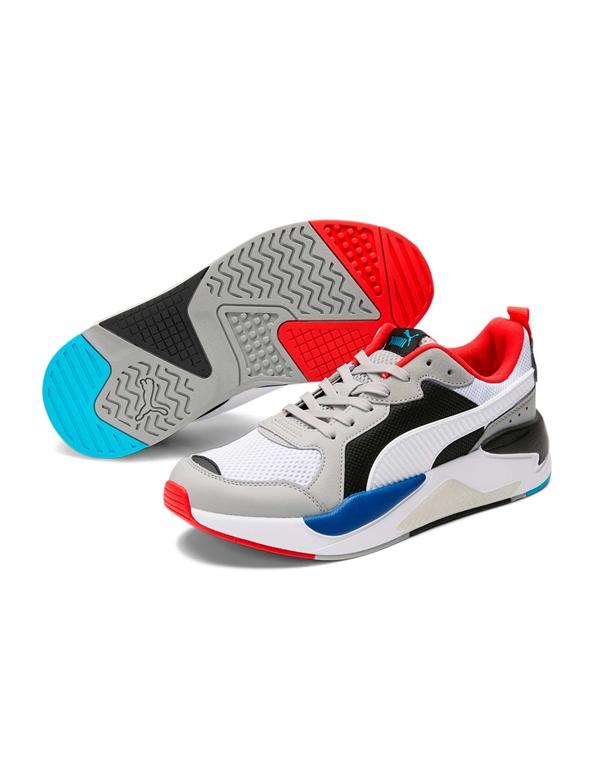 Puma X-Ray Sneakers Grå-Hvid-Rød-Blå Herre 1