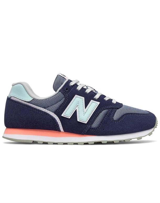 New Balance 373 Sneakers Navy-Lyseblå Dame 1