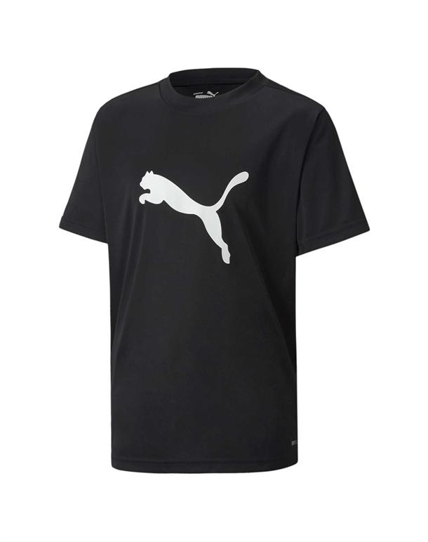 Puma ftblPLAY Logo T-shirts Sort Børn 1