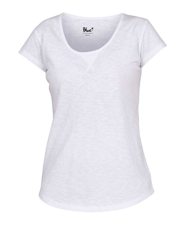 Blue Sportswear Gracia T-shirts Hvid Dame 1