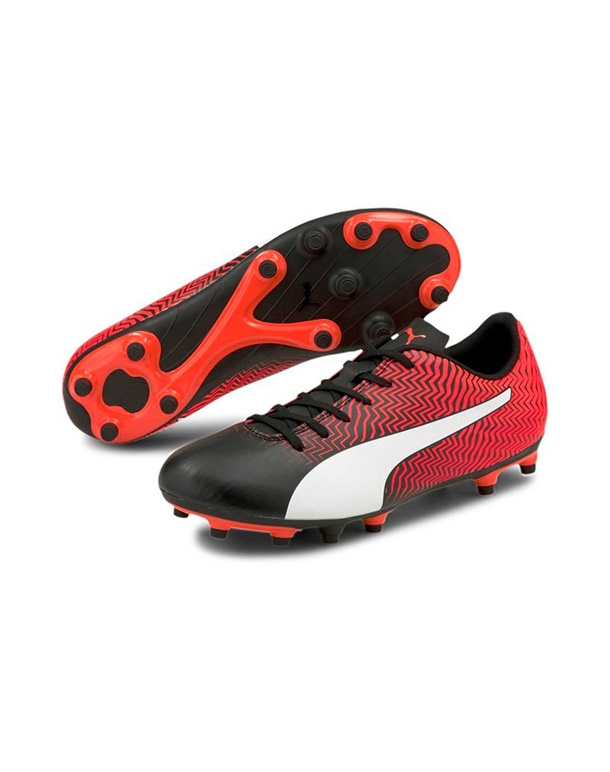 Puma Rapido Fodboldstøvler Rød-Sort Børn 1